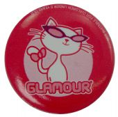 Glamour Puss - Slogan Button Badge